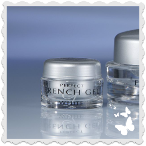 g049 Den perfekta fransk manikyr gelen vit 14 ml