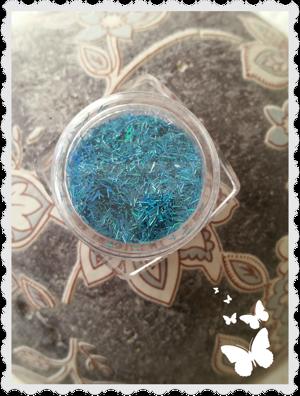 sr046 Neon light blue