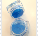 Neon blå  färg pigment