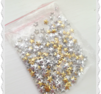 250 pack mix av silver och guld stjärnor