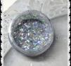 s238 Silver flitter stavar