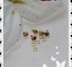 5 - pack bjällror som piercing att ha i nageln