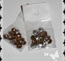 Större swarovski bling stenar i brunt