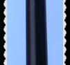 p051 Penna med platt gummi dott