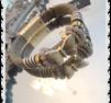 a229 Fjärils armband beige inslag