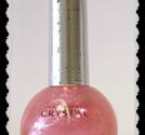 nc14-k Crystal nail polish pink rund flaska 16 ml