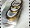 1 - pack striping tejp guld